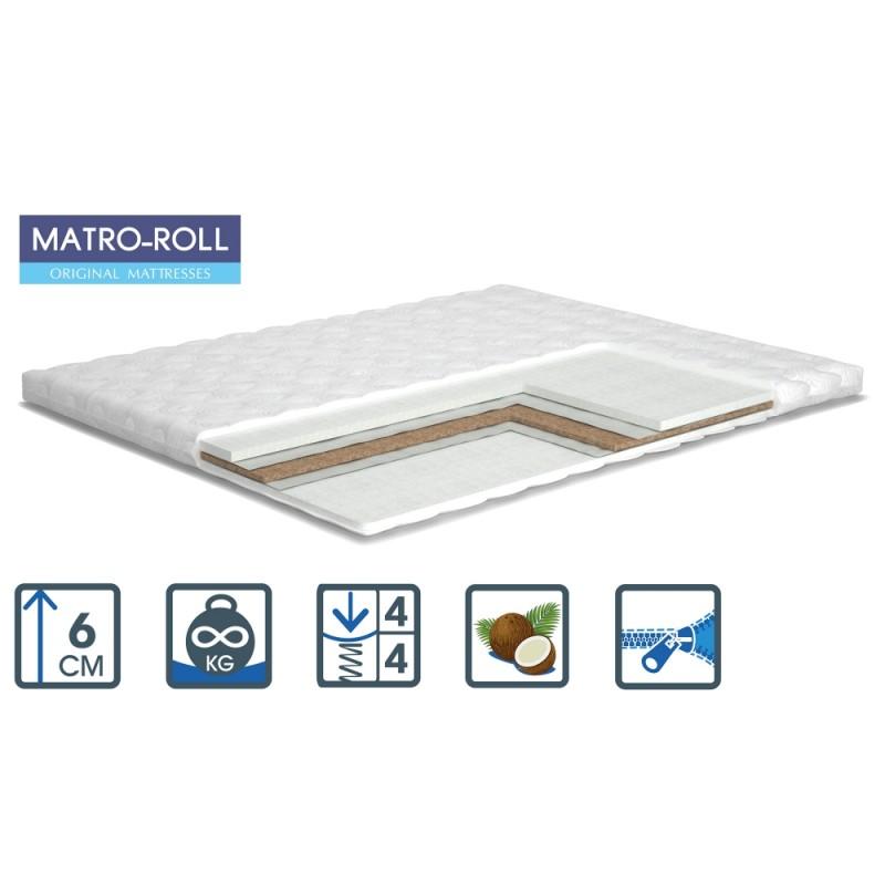 Матрас Extra Kokos Matro-Roll-Topper / Экстра Кокос